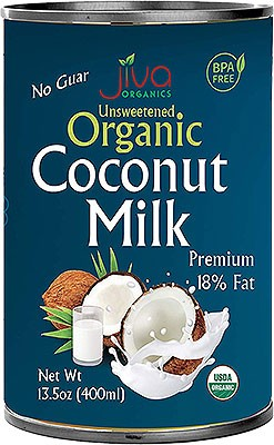 Jiva Organics Unsweetened Organic Coconut Milk