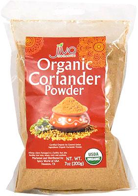 Jiva Organics Coriander Powder - 7 oz