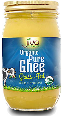 Jiva Organics Pure Ghee (Grass-fed) - 16 oz