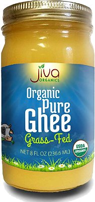 Jiva Organics Pure Ghee (Grass-fed) - 8 oz