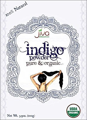 Jiva Organics Indigo Hair Powder