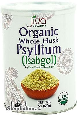 Jiva Organics Whole Husk Psyllium (Isabgol)
