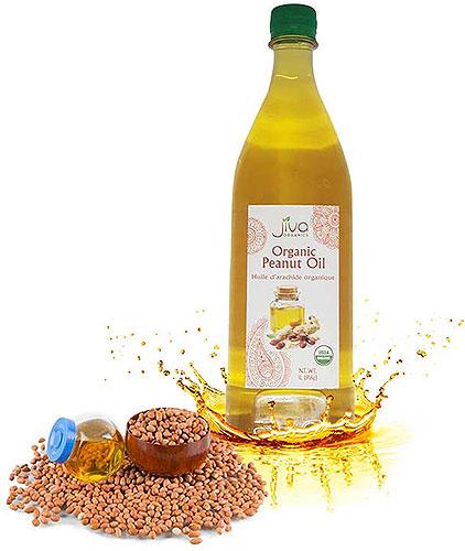 Jiva Organics Peanut Oil - 1 liter