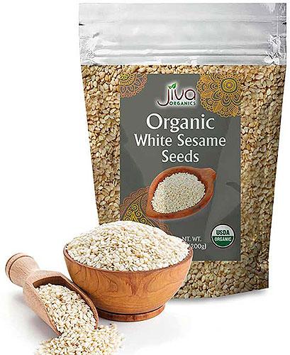 Jiva Organics White Sesame Seeds
