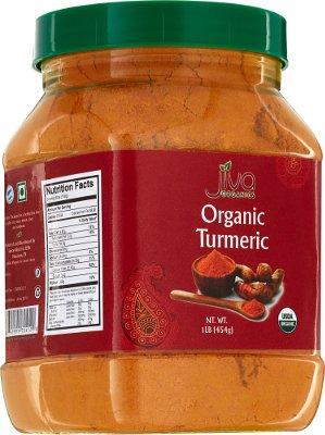 Jiva Organics Turmeric Powder - 1 lb jar