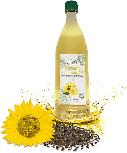 Jiva Organics Sunflower Oil - 1 liter