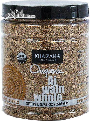 Khazana Organic Ajwain Seeds