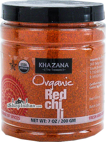 Khazana Organic Red Chili Powder