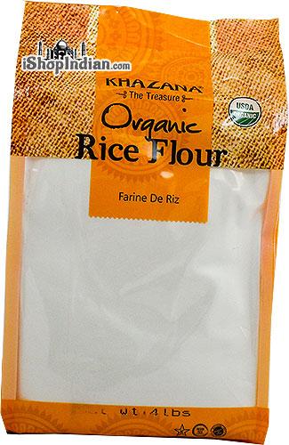 Khazana Organic Rice Flour - 4 lbs