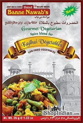 Ustad Banne Nawab's Kadhai Vegetables Spice Mix
