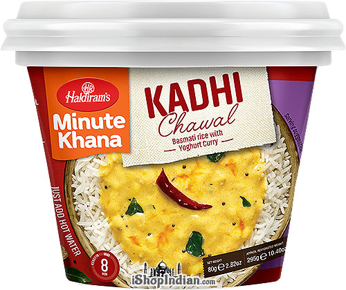 Haldiram's Instant Kadhi Chawal - Basmati Rice with Yoghurt Curry