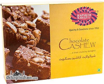 Karachi Bakery Chocolate Cashew Biscuits
