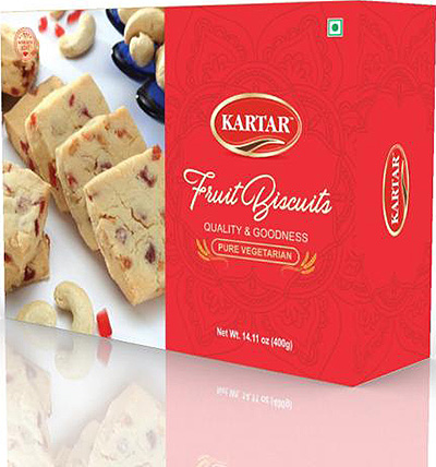 Kartar Fruit Biscuits