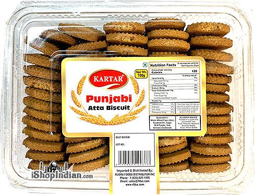Kartar Punjabi Atta Biscuits