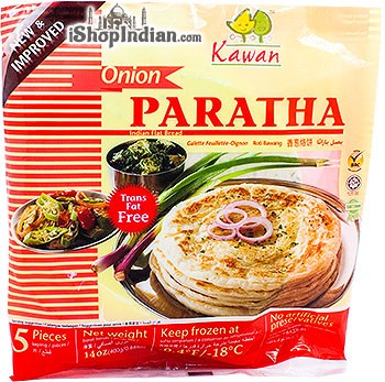 Kawan Onion Paratha - 5 pcs (FROZEN)