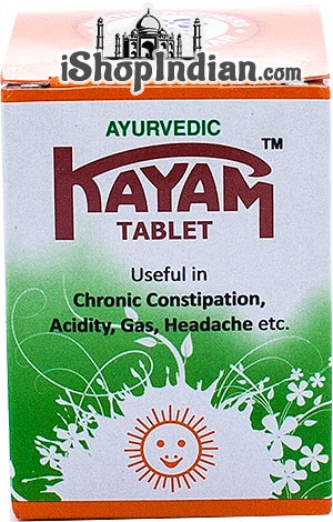 Kayam Churna Tablets (Ayurvedic Medicine)