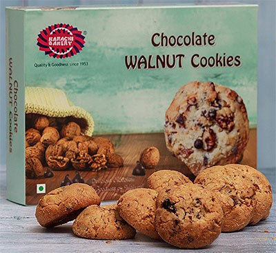 Karachi Bakery Chocolate Walnut Cookies