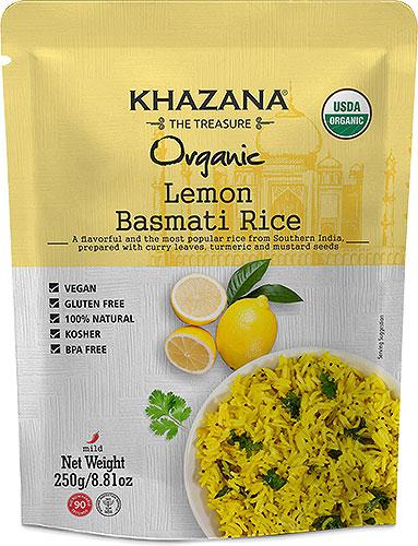 Khazana Organic Lemon Basmati Rice (Ready-to-Eat)