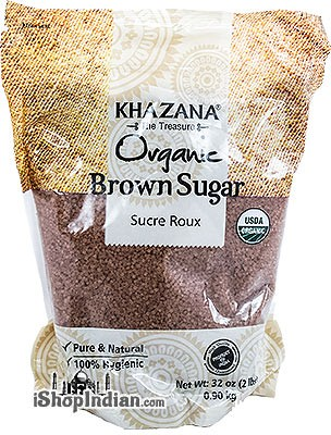 Khazana Organic Brown Sugar Crystals