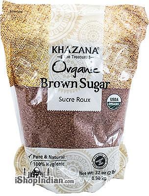 Khazana Organic Brown Sugar Crystals