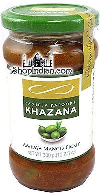 Sanjeev Kapoor's Khazana Avakaya Mango Pickle