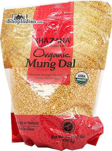 Khazana Organic Mung Dal (Green Gram Split)