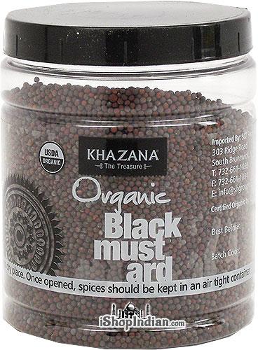 Khazana Organic Mustard Seeds