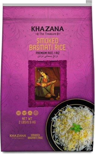 Khazana Smoked Basmati Rice - 2 lbs