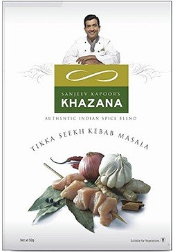 Sanjeev Kapoor's Khazana Tikka Seekh Kebab Masala