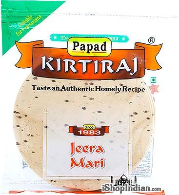Kirtiraj Jeera Mari (Cumin & Black Pepper) Papad
