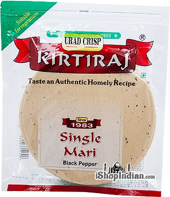 Kirtiraj Single Mari (Black Pepper) Papad