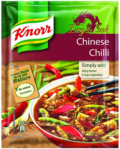 Knorr Chinese Chilli Gravy Mix