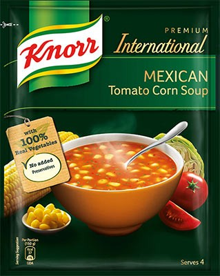 Knorr Mexican Tomato Corn Soup Mix