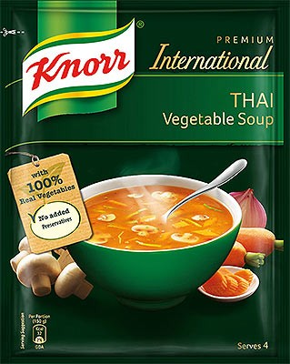 Knorr Thai Vegetable Soup Mix