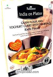 Kohinoor Kadhi Pakora - Gram Flour and Yoghurt Curry with Dumplings (Ready-to-Eat)