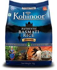 Kohinoor Basmati Rice (Platinum - Extra Flavour) - 10 lbs.