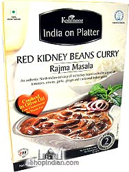 Kohinoor Rajma Masala - Red Kidney Beans Curry (Ready-to-Eat)