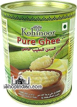 Kohinoor Pure Ghee - 33.8 oz