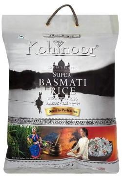 Kohinoor Extra Fine Basmati Rice (Silver Range)  - 10 lbs