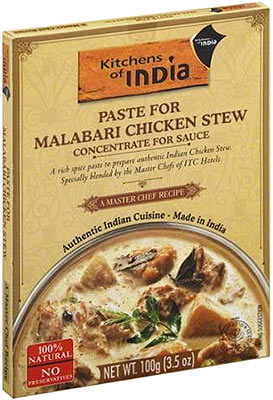 Kitchens of India - Paste for Malabari Chicken Stew (Concentrate for Sauce)