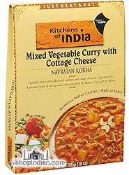 Kitchens of India Navratan Korma - Mixed Vegetable Curry with Cottage Cheese (Ready-to-Eat)