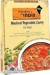 Kitchens of India Pav Bhaji - Mashed Vegetable Curry (Ready-to-Eat)