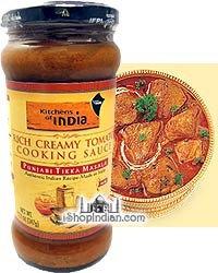 Kitchens of India Rich Creamy Tomato Cooking Sauce - Punjabi Tikka Masala