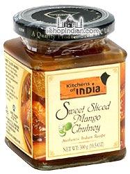 Kitchens of India Sweet Sliced Mango Chutney