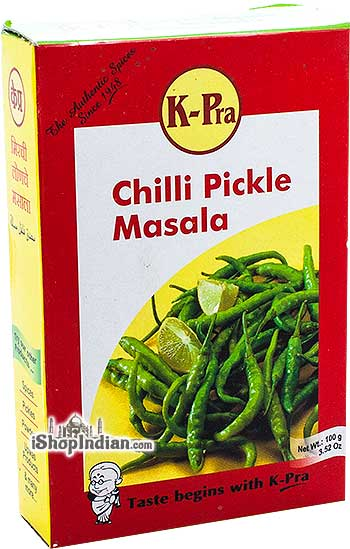 K-Pra Chilli Pickle Masala