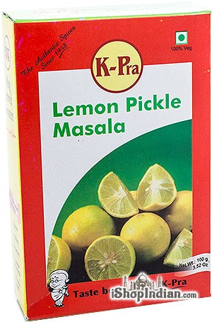 K-Pra Lemon Pickle Masala