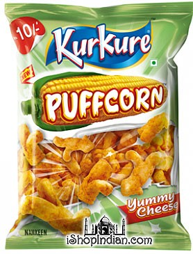 Kurkure - Puffcorn - Yummy Cheese
