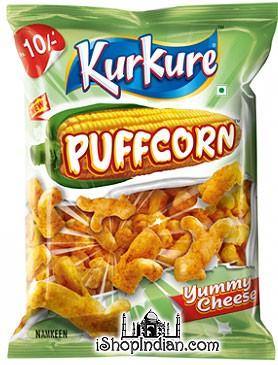 Kurkure - Puffcorn - Yummy Cheese