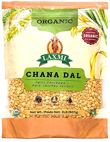 Laxmi Organic Chana Dal - 2 lbs