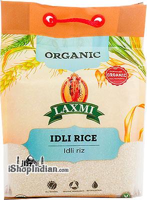 Laxmi Organic Idli Rice - 10 lbs